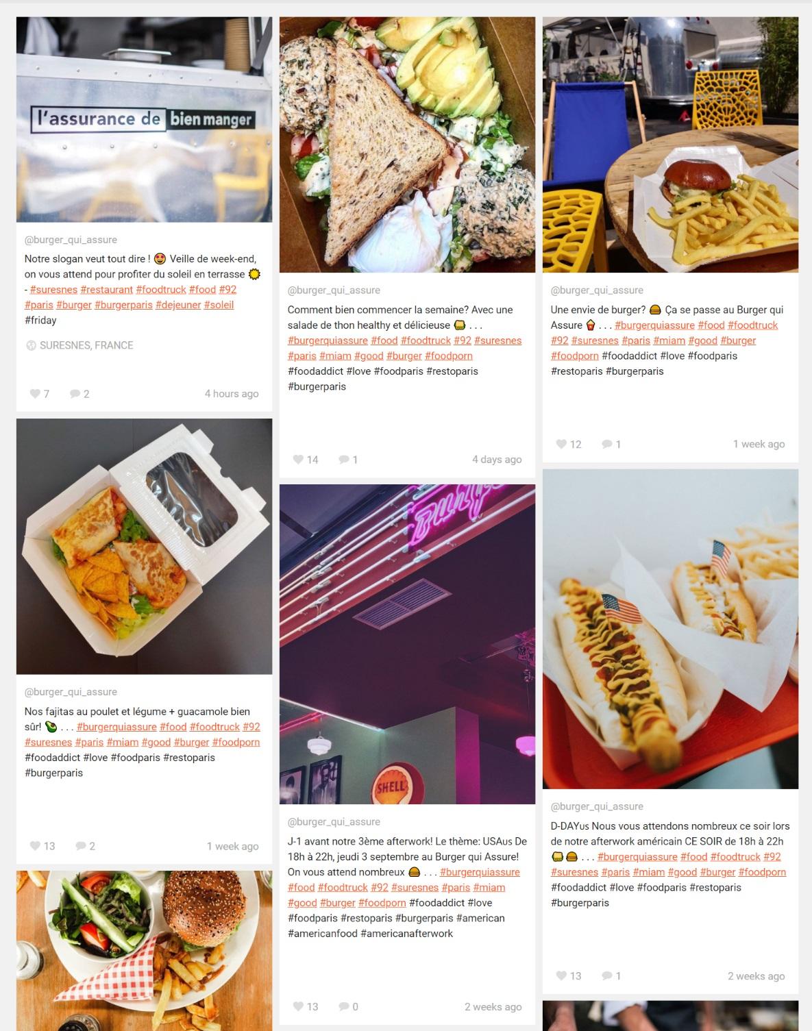 foodtruck burger qui assure SPVIE Assurances