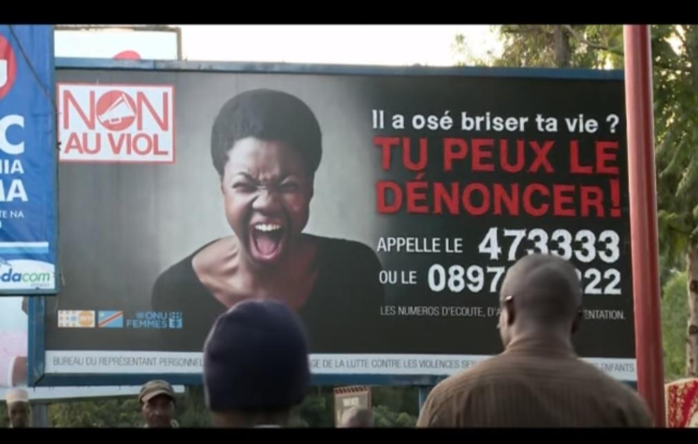 grande campagne nationale contre le viol en republique democratique du congo brisez le silence
